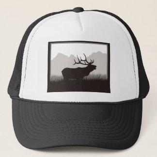 Elk Bugling Trucker Hat