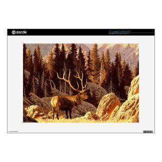 """Elk Bull 15"""" Laptop Skins"""
