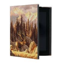 Elk Bull iPad Case