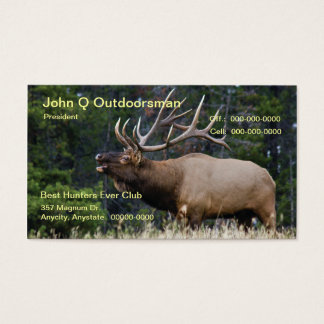 Elk Business Card