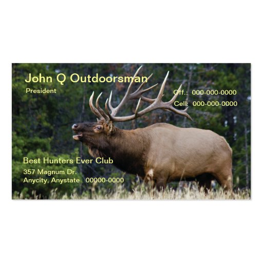 Elk Business Card Templates