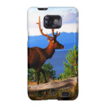 Elk by Yellowstone Lake Samsung Galaxy S2 Covers