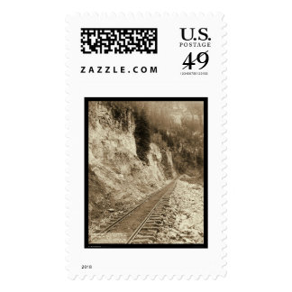 Elk Canyon On Fort Pierre Railroad SD 1890 Postage Stamps