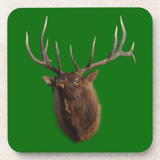 Elk Charging Drink Coaster