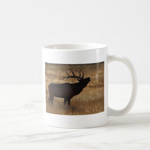 elk classic white coffee mug