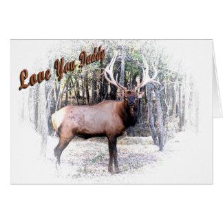Elk- Daddy Card