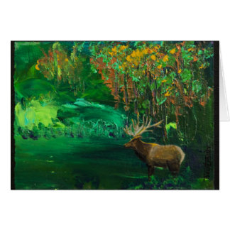 Elk Fall Stationery Note Card