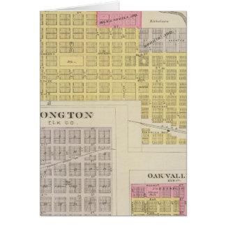 Elk Falls, Longton, Oak Valley, Kansas Card