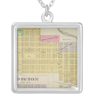 Elk Falls, Longton, Oak Valley, Kansas Silver Plated Necklace