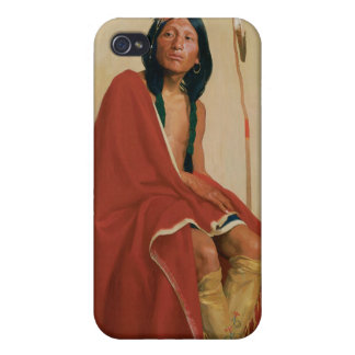 Elk-Foot of the Taos Tribe iPhone 4/4S Cases