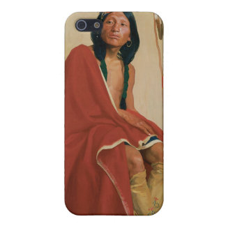 Elk-Foot of the Taos Tribe iPhone SE/5/5s Cover