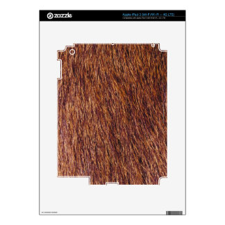 Elk fur decal for iPad 3