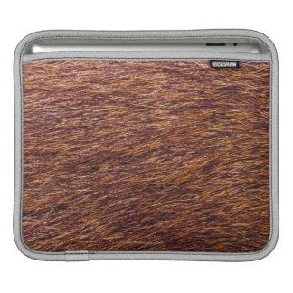 Elk fur sleeve for iPads