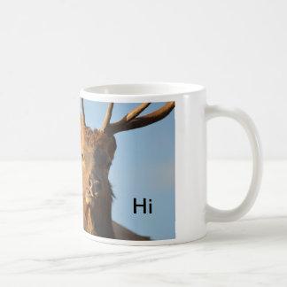 Elk Good Morning Classic White Coffee Mug