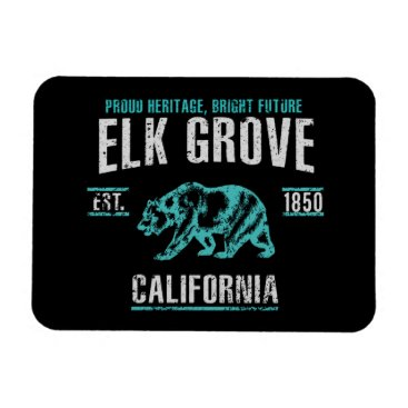 USA Themed Elk Grove Magnet