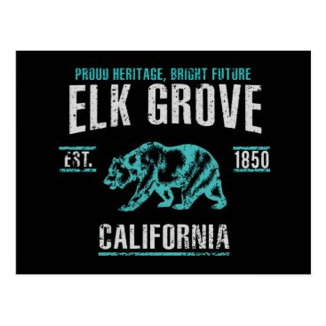 USA Themed Elk Grove Postcard