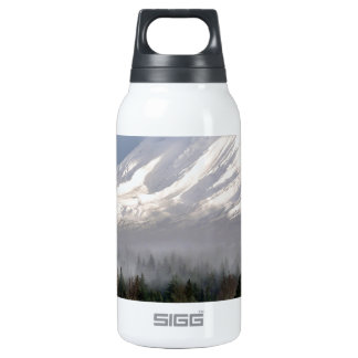 Elk Heard Gathers at the Base of Mt. Adams Thermos Water Bottle