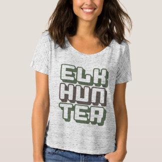 ELK HUNTER - I Love Bow & Rifle Deer Hunting, Camo T-Shirt
