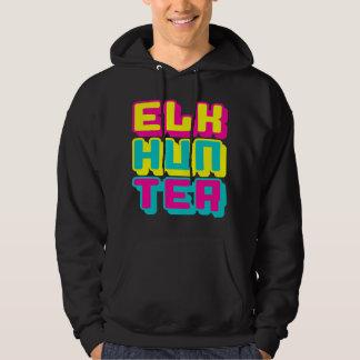 ELK HUNTER - I Love Bow & Rifle Deer Hunting, Glow Hoodie