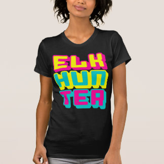ELK HUNTER - I Love Bow & Rifle Deer Hunting, Glow T-Shirt