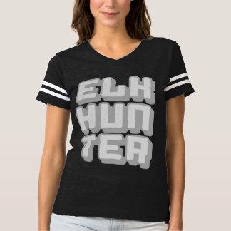 ELK HUNTER - I Love Bow & Rifle Deer Hunting, Gray T-shirt