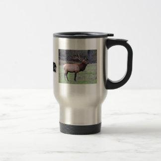 Elk hunter 15 oz stainless steel travel mug
