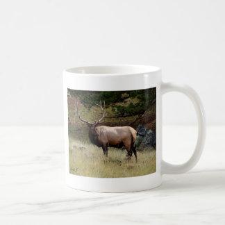 Elk in the Wild Coffee Mug