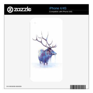 Elk iPhone 4 decal