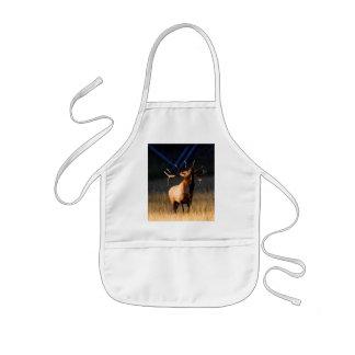 elk kids' apron
