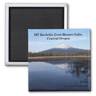 elk lake,may2007 050, MT Bachelor from Hosmer L... Magnet