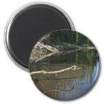 Elk Lake, Oregon Cascades Fridge Magnet