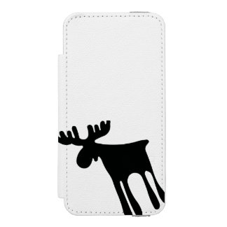 Elk/Moose Wallet Case For iPhone SE/5/5s