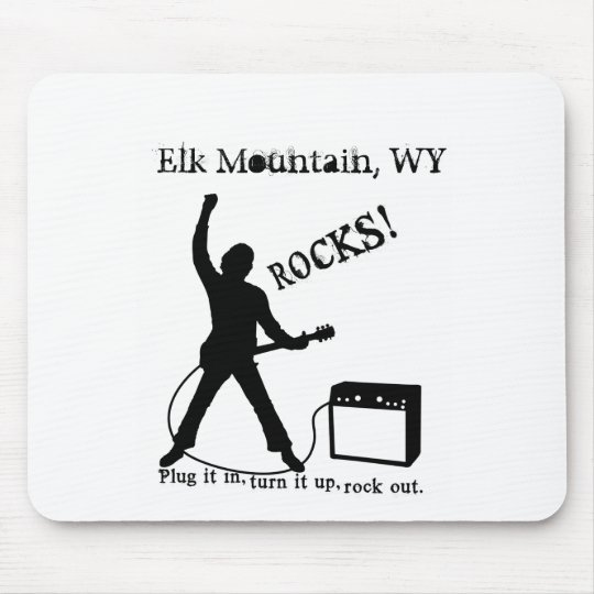 Elk Mountain, WY Mouse Pad