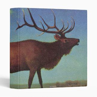 Elk Painting Binder