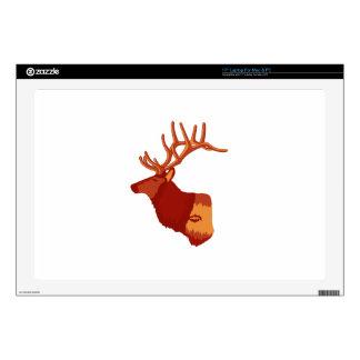 Elk Profile Laptop Skin