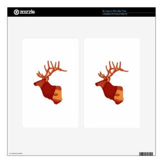 Elk Profile Skin For Kindle Fire