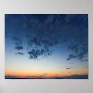 Elk Rapids Sunset Poster