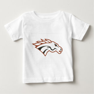 Elk River 6th Grade White Mustangs Baby T-Shirt