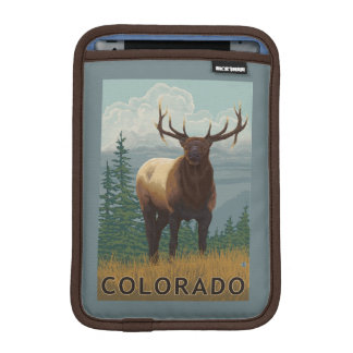 Elk SceneColorado Sleeve For iPad Mini
