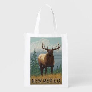 Elk SceneNew Mexico Grocery Bags