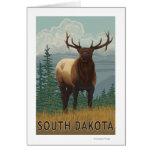 Elk SceneSouth Dakota Greeting Cards