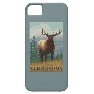 Elk SceneSouth Dakota iPhone SE/5/5s Case
