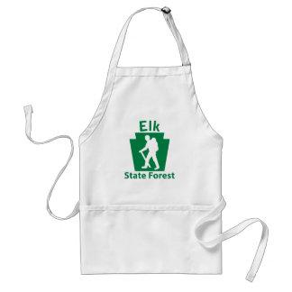 Elk SF Hike (male) Adult Apron