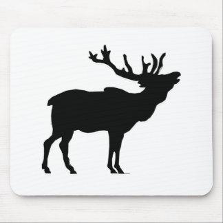 elk shilouette peace joy calm mouse pad