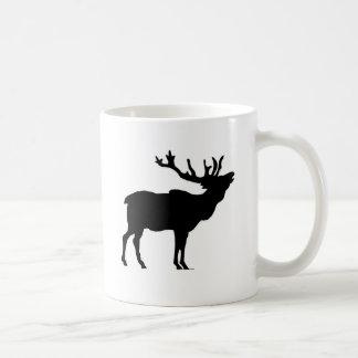 elk shilouette peace joy calm mugs