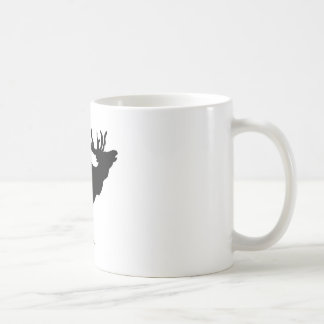 elk shilouette peace joy calm mug