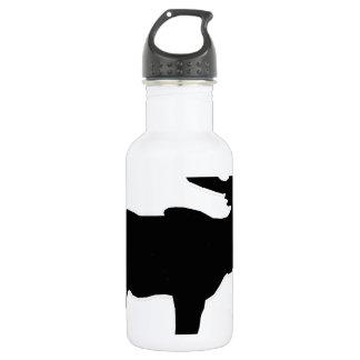 elk shilouette peace joy calm 18oz water bottle