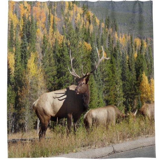 Elk Shower Curtian Curtain