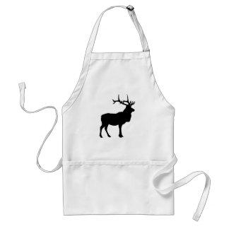 Elk Silhouette Adult Apron