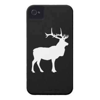 Elk Silhouette Case-Mate iPhone 4 Cases